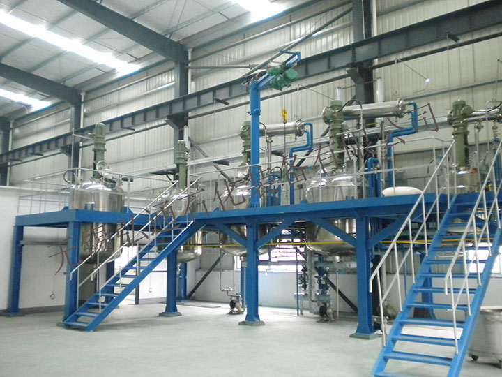Complete sets of coating equipment